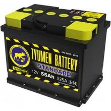 Аккумулятор 6СТ-55 залитый обратный Тюмень STANDART